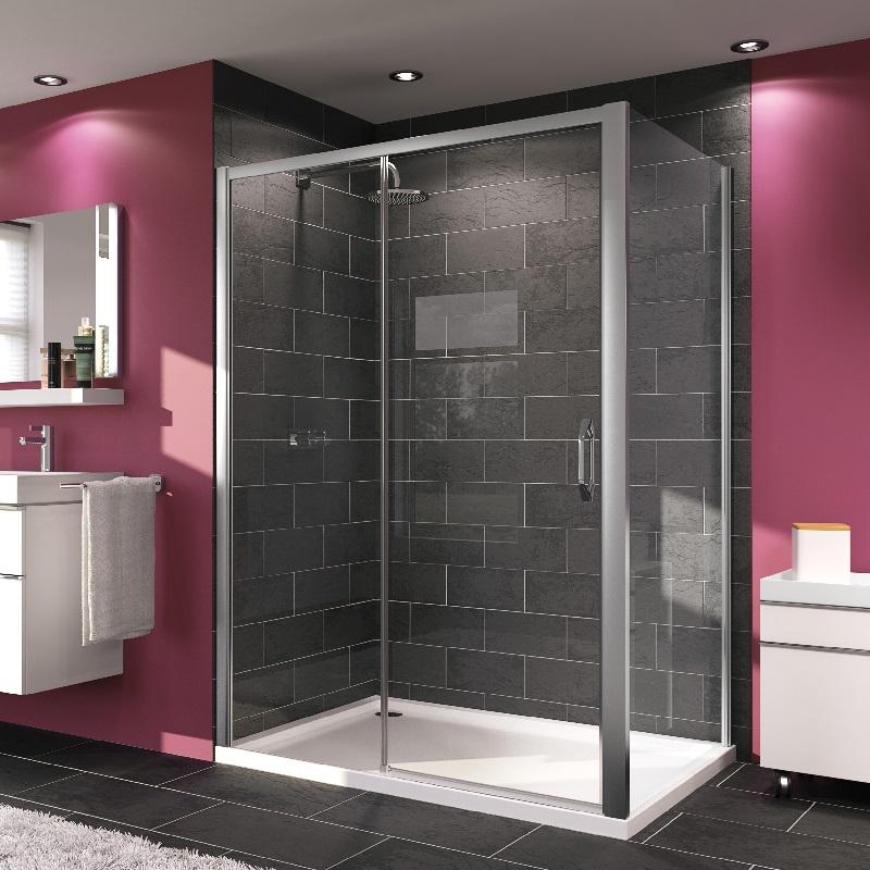 HÜPPE MyFlex sprchové dvere posuvné zhotovenie na mieru upevnenie vľavo