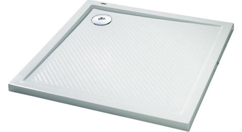 HÜPPE Purano sprchová vanička 100 x 100 cm biela s protišmykom 202162055
