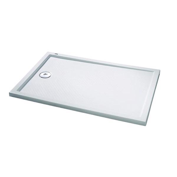 HÜPPE Purano sprchová vanička 120 x 90 cm biela s protišmykom 202158055