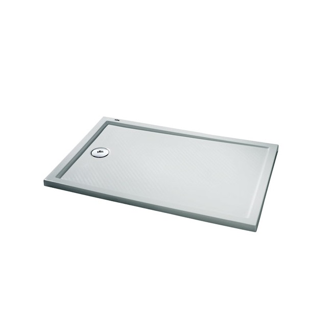 HÜPPE Purano sprchová vanička 4-uholník 100 x 70 cm s protišmykom 202165055