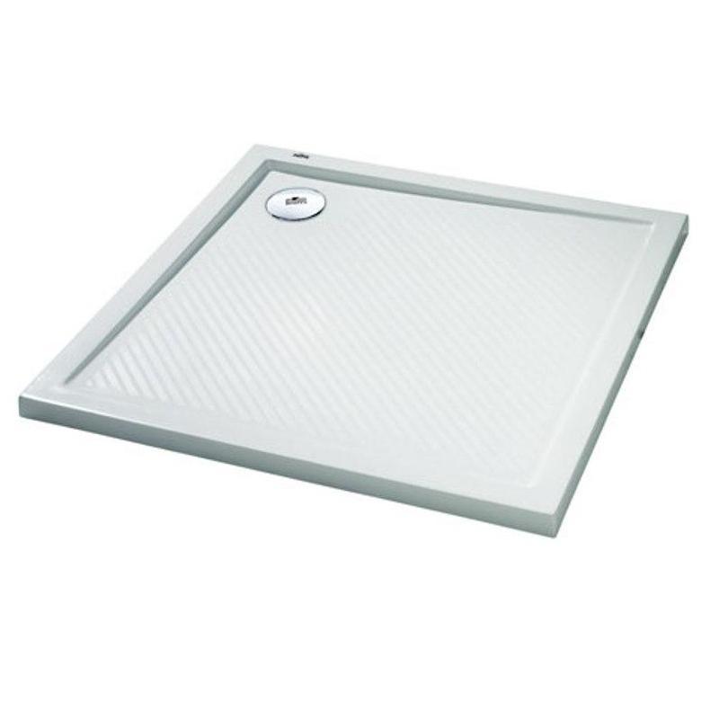 HÜPPE Purano sprchová vanička 90 x 90 cm biela s protišmykom 202161055