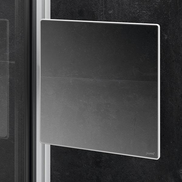 HÜPPE SELECT+ Mirror zrkadlo do sprchy strieborná matná SL2301087