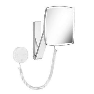KEUCO iLOOK MOVE zrkadlo kozmetické s osvetlením a funkciou stmievania, chróm, štvorcové, 17613019000