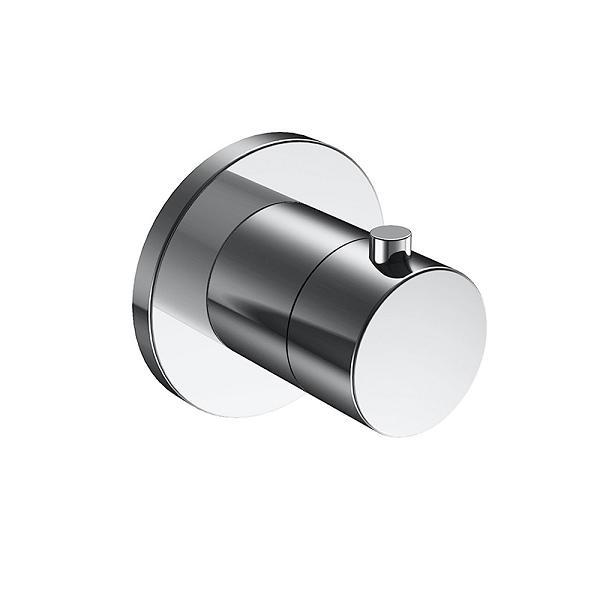 KEUCO Ixmo termostatická sprchová batéria bez uzatvorenia s kruhovou rozetou