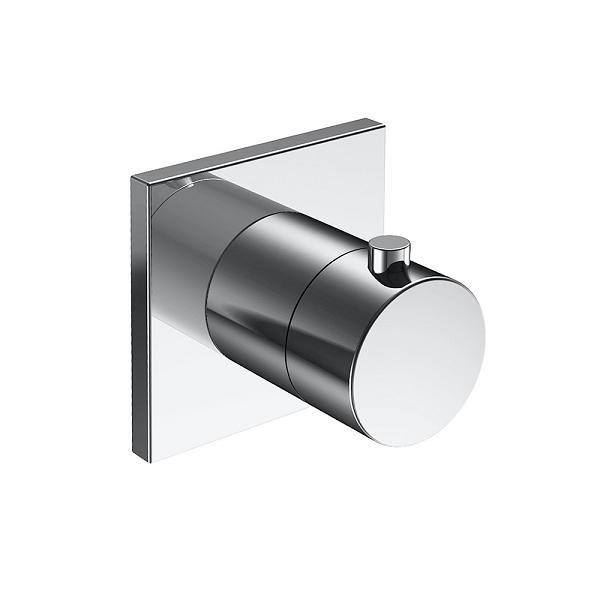 KEUCO Ixmo termostatická sprchová batéria bez uzatvorenia s štvorcovou rozetou