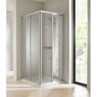 kút sprchový atyp CLASSICS Elegance 4-uholník posuvné dvere rohový vstup str.lesk číre sklo AP