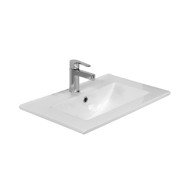 LAVITA FLORYDA - keramické nábytkové umývadlo 61 x 40 cm biele