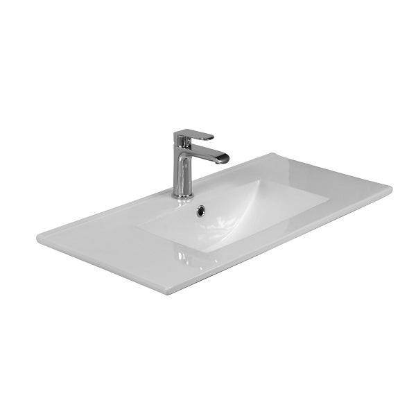LAVITA FLORYDA - keramické nábytkové umývadlo 82 x 40,5 cm biele
