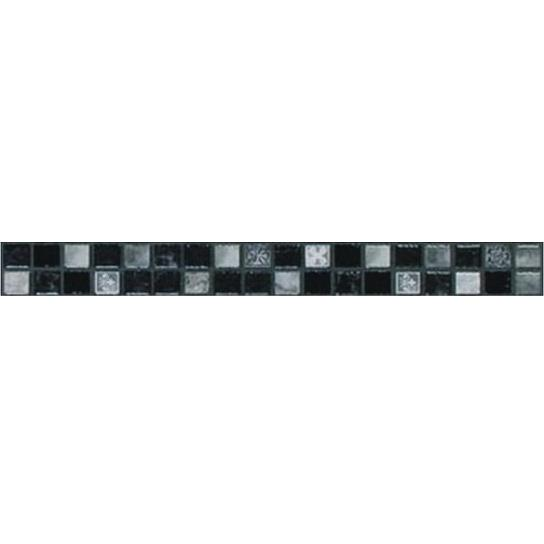 listela CATWALK L.PURCELL-G 3 x 33 cm matná šedo čierna