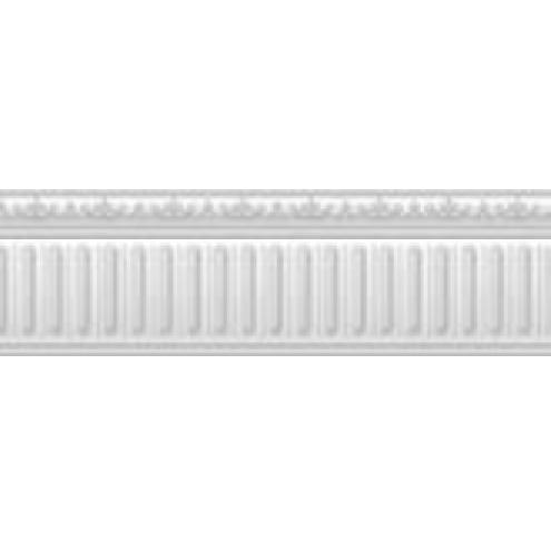 listela METROPOLITAN C.METROPOLITAN-B/32/R 10 x 32 cm vzhľad mramoru lesklá biela