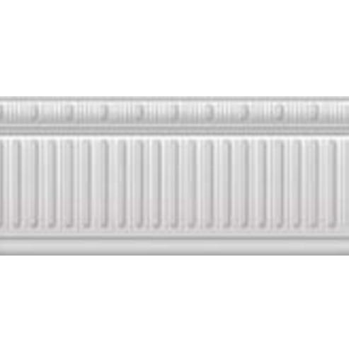 listela METROPOLITAN ZOC.METROPOLITAN-B/32/R 15 x 32 cm vzhľad mramoru lesklá biela