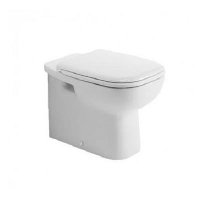 misa WC stojaca D-CODE 35,5 x 56 odpad zadný rovný biela kapotovaná