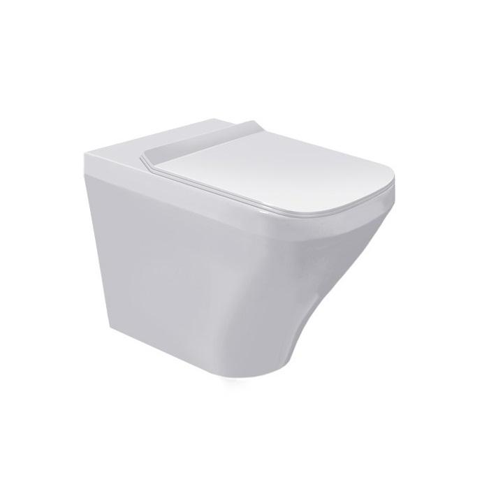 misa WC stojaca ku stene DURA STYLE 37 x 57 cm biela