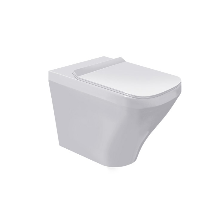 misa WC stojaca ku stene DURA STYLE 37 x 57 cm biela s WG