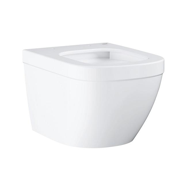misa WC závesná EURO Ceramic Compact 37 x 49 Rimless,Triple Vortex alpská biela