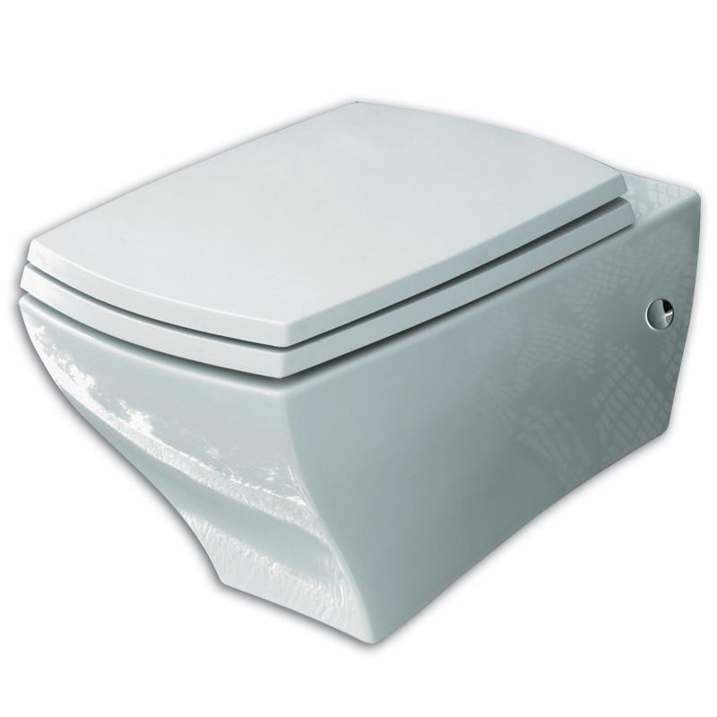 misa WC závesná JAZZ 36 x 54 biela spodný odpad + montážna sada