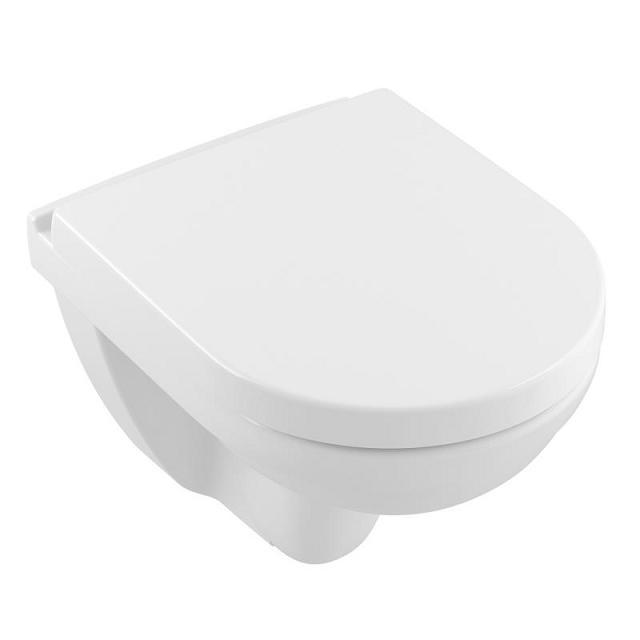 misa WC závesná O.NOVO 36 x 49 cm Compact s hlbok splachovaním biela