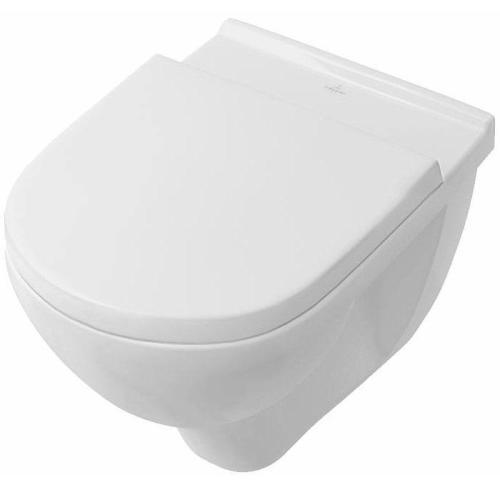 misa WC závesná O.NOVO + sedátko so SoftClose a QuckRelease biela