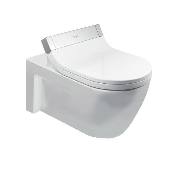 misa WC závesná SensoWash STARCK 2 37,5 x 62 cm upev Durafix biela s WG