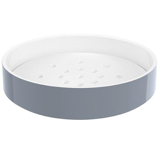 miska na mydlo JOYCE 3 x 15 cm s mag. podl. a vnút. podlož., bali