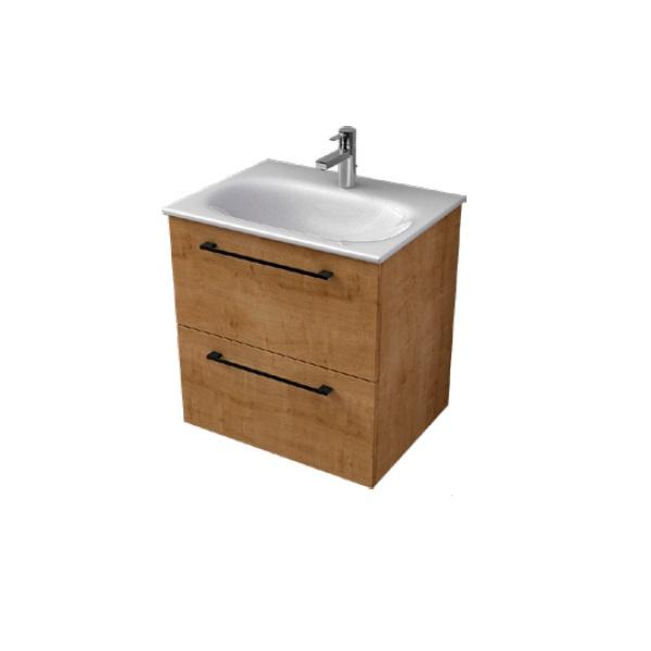 MYBATH MyEssence umývadlová skrinka 60 2-zásuvková dub arlington