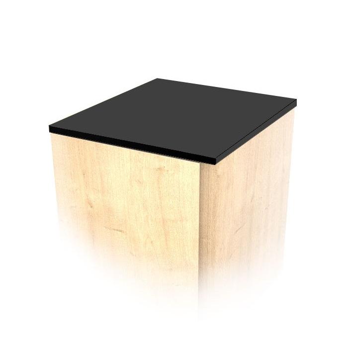 MYBATH MyVento doska na nízku skrinku matná čierna