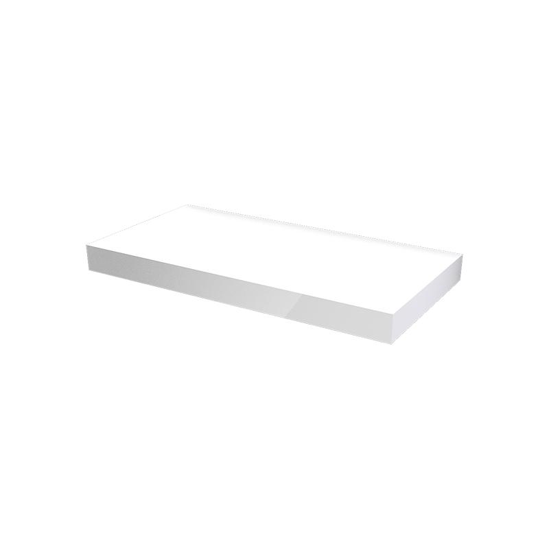 MYBATH MyVento doska pod umývadlo 100 x 8 x 50 lesklá biela MP100B01