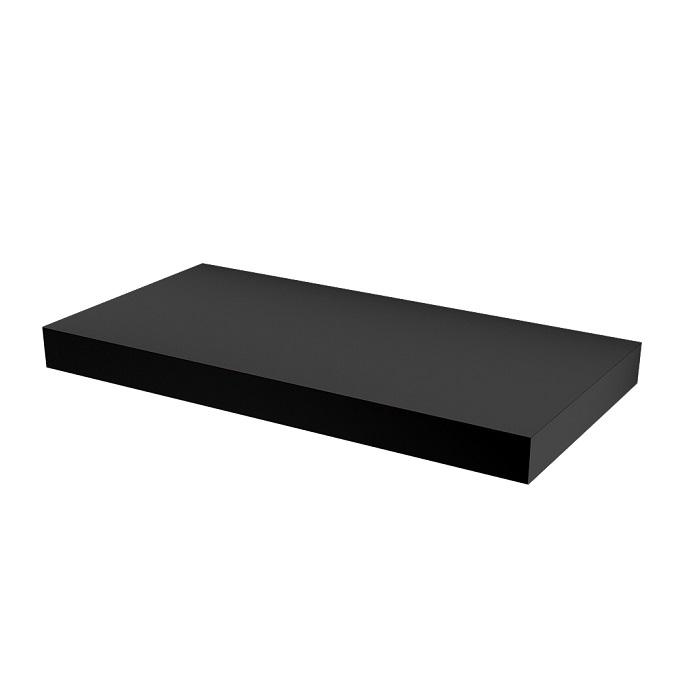 MYBATH MyVento doska pod umývadlo 100 x 8 x 50 matná čierna MP100BM33