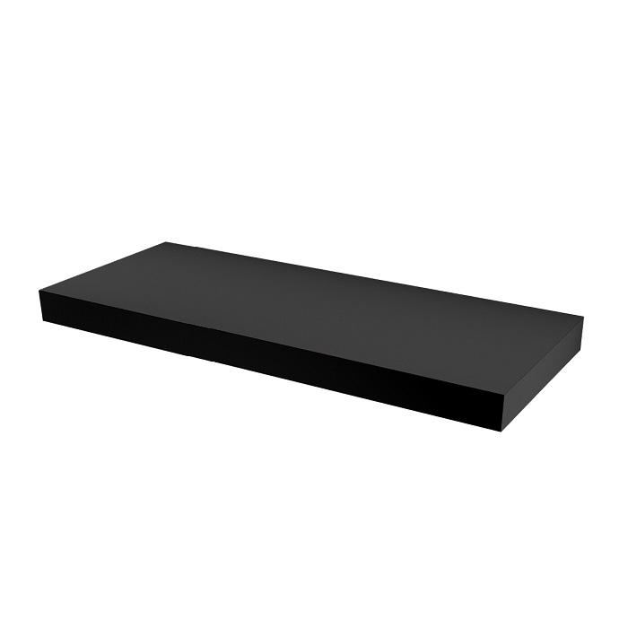 MYBATH MyVento doska pod umývadlo 150 x 8 x 50 matná čierna MP150BM33