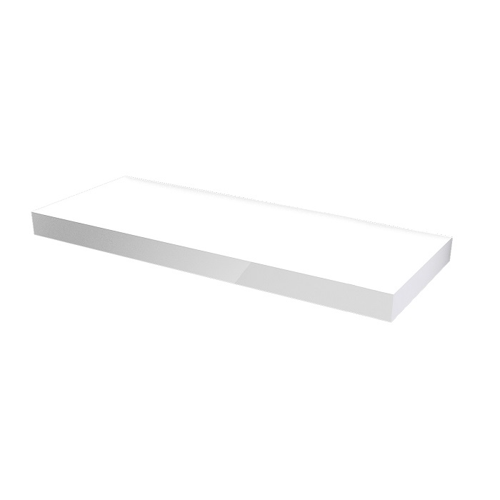 MYBATH MyVento doska pod umývadlo 170 x 8 x 50 lesklá biela MP170B01