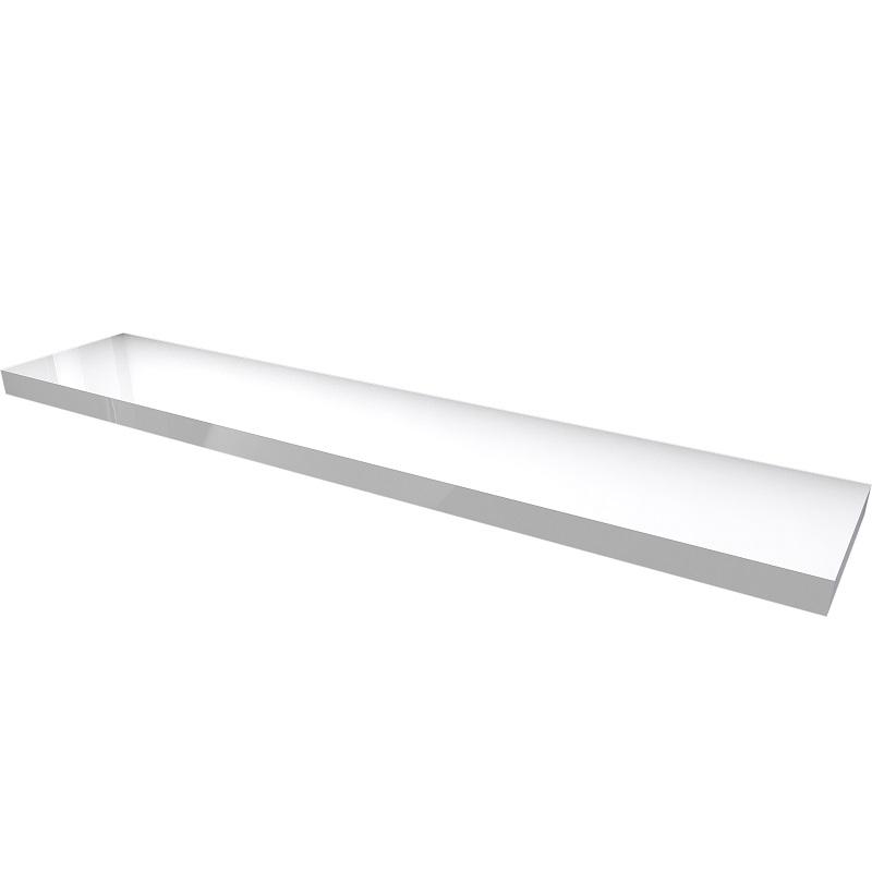 MYBATH MyVento doska pod umývadlo 250 x 50 x 8 lesklá biela MP250B01