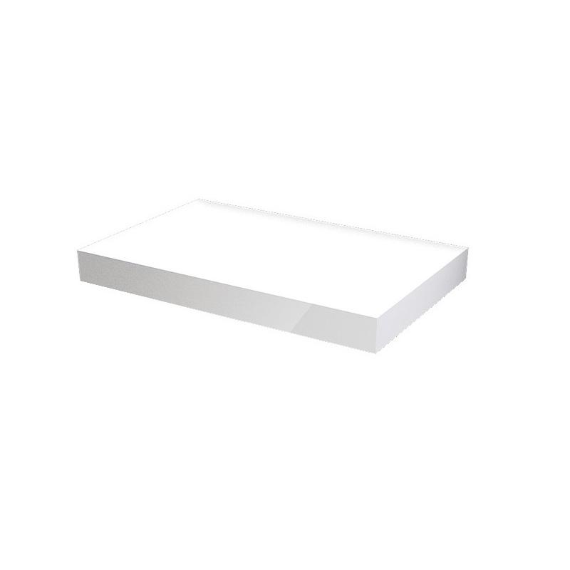 MYBATH MyVento doska pod umývadlo 80 x 8 x 50 lesklá biela MP80B01