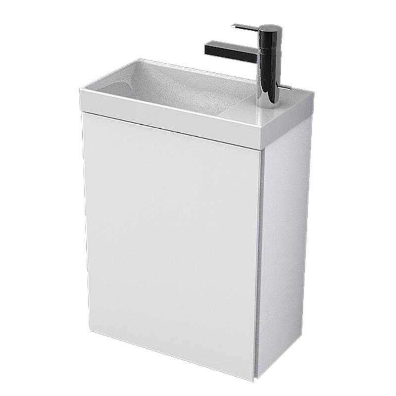 MYBATH MyVento skrinka k umývadlu WhiteStone 40 cm ľavá MVE40D1B01L