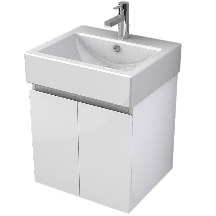 MYBATH MyVento skrinka k umývadlu WhiteStone 50 cm 2-dverová MOR50D2B01