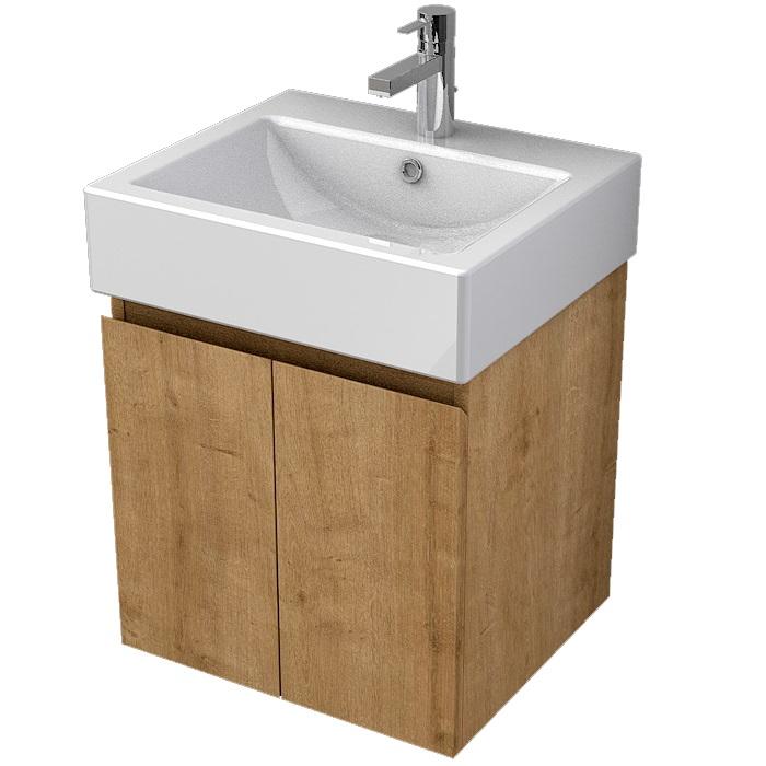 MYBATH MyVento skrinka k umývadlu WhiteStone 50 cm 2-dverová MOR50D2H3303