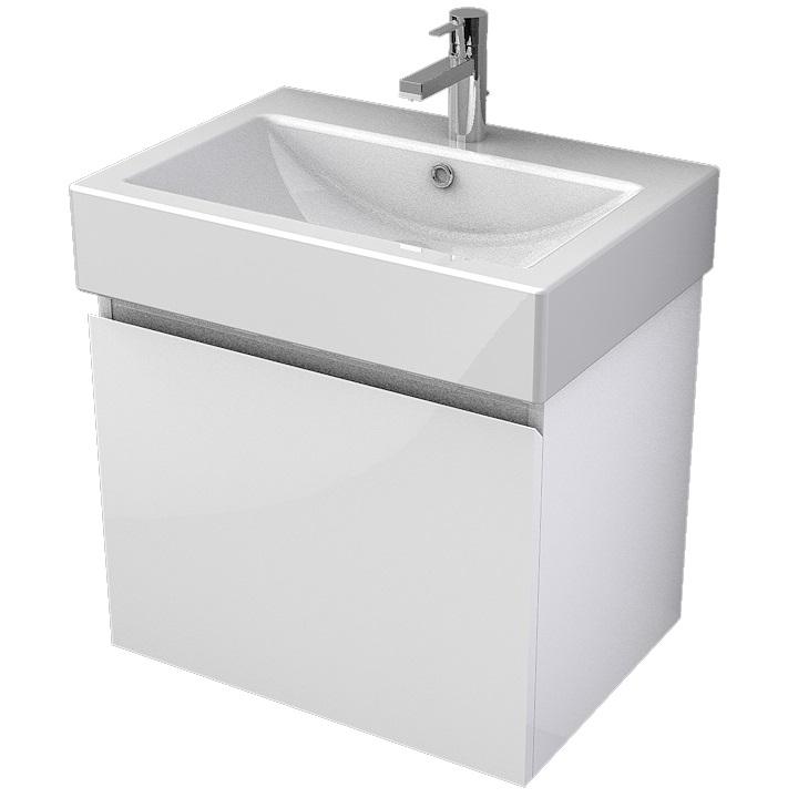MYBATH MyVento skrinka k umývadlu WhiteStone 60 cm 1-zásuvková MOR60Z1B01
