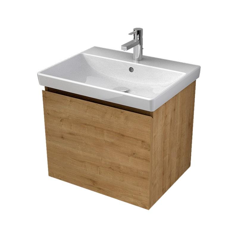 MYBATH MyVento umývadlová skrinka 60 1-zásuvková k umývadlu Avento 60,dub Arlington, MVE60Z1H3303