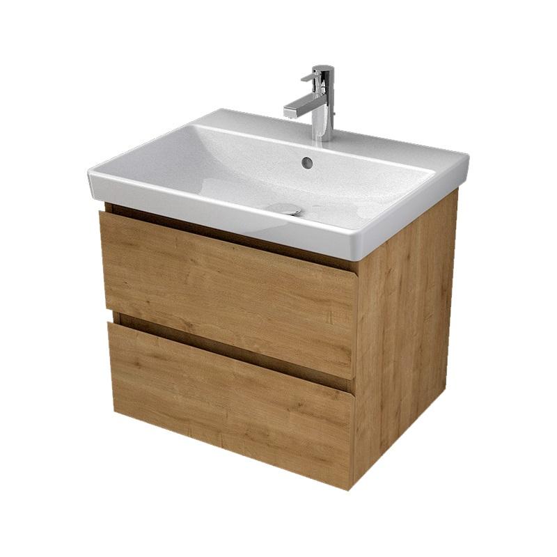 MYBATH MyVento umývadlová skrinka 60 2-zásuvková k umývadlu Avento 60, dub Arlington MVE60Z2H3303