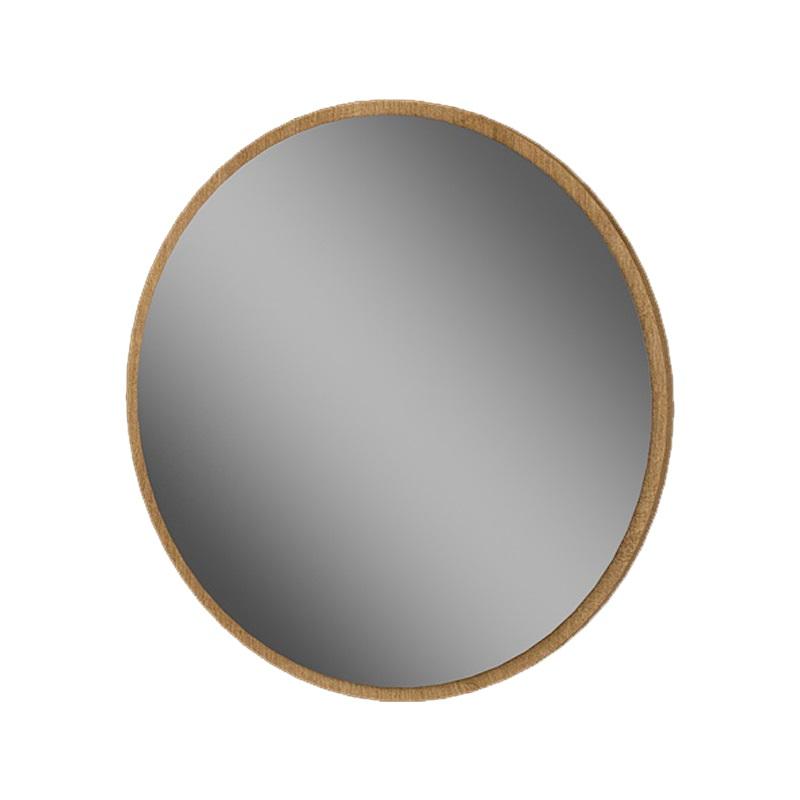 MYBATH MyVento zrkadlo kruhové 60 cm dub Arlington MZ60KH3303