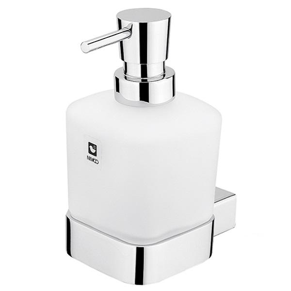 NIMCO KIBO dávkovač mydla nádobka mliečne sklo 250ml chróm KI14031C26
