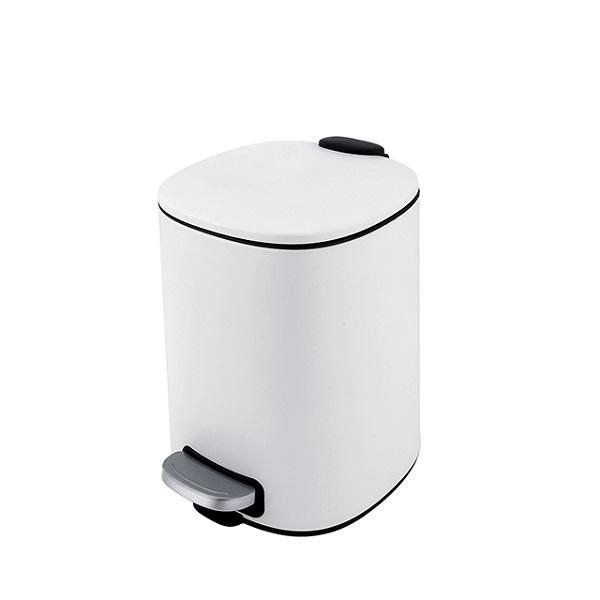 Nimco kôš odpadový 5l 20 x 21 x 27,5 cm, biela matná KOS900505