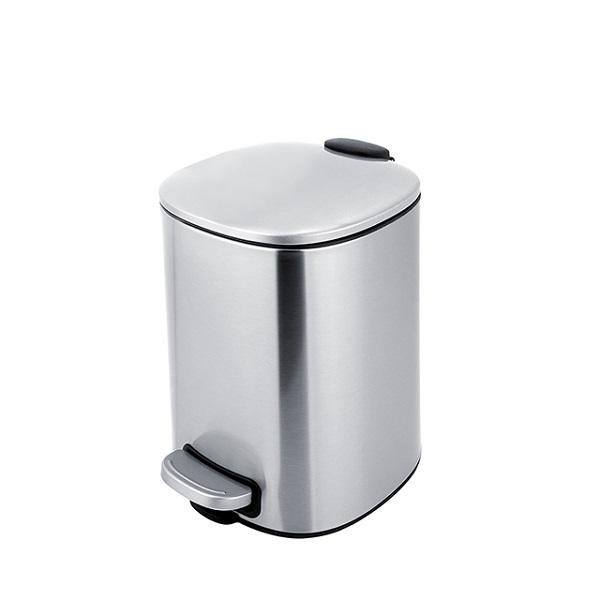 Nimco kôš odpadový  5l 20 x 21 x 27,5 cm, nerez matná KOS900510