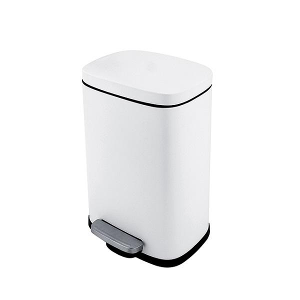 Nimco kôš odpadový 5l 21 x 15,5 x 30,5 cm, biela matná KOS805005