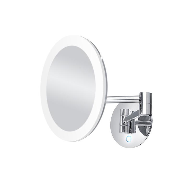 NIMCO kozmetické zrkadlo nástenné okrúhle 20cm LED ZK2026526