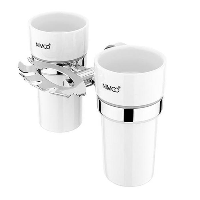 NIMCO Unix držiak pohárov a zubných kefiek UN13057DKN26