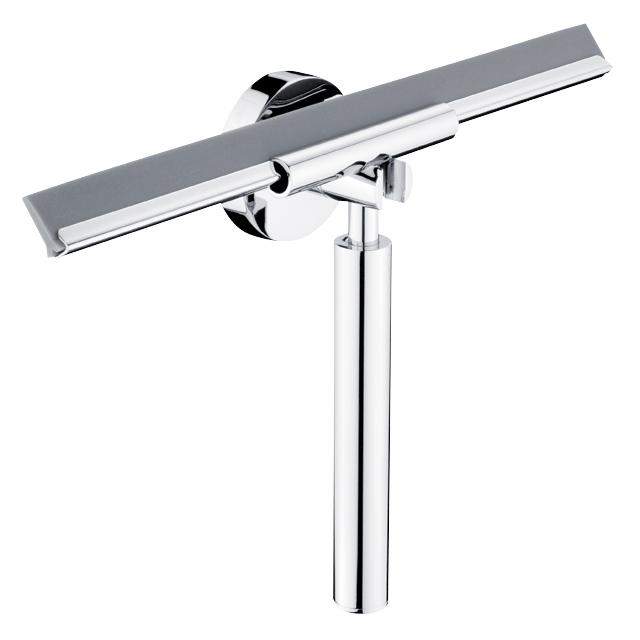 NIMCO Unix - stierka do sprchy z háčikom na stenu chróm, UN1301226