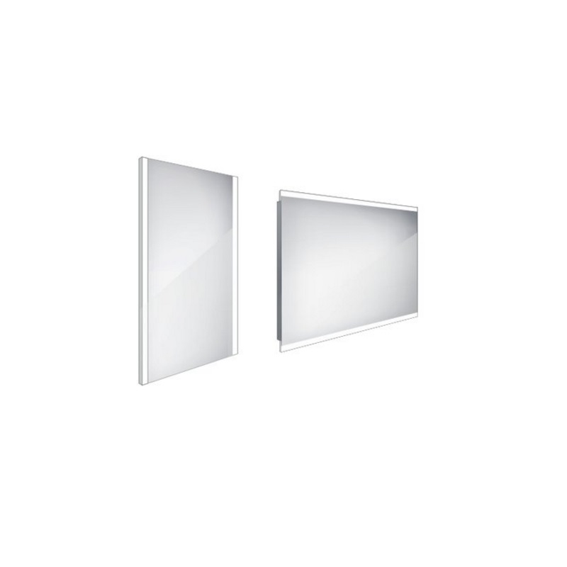 NIMCO zrkadlo podsvietené LED 11000 40 x 60 cm hliníkový rám ZP11000