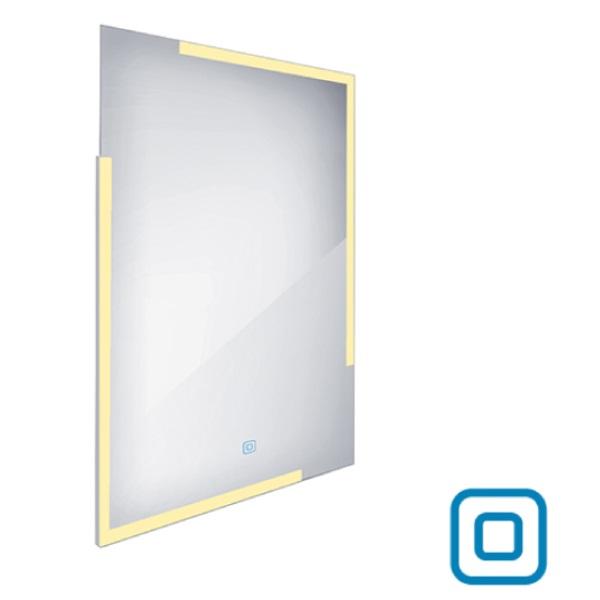 NIMCO zrkadlo podsvietené  LED 14000V 60 x 80 cm hliníkový rám s dotykovým senzorom ZP14002V