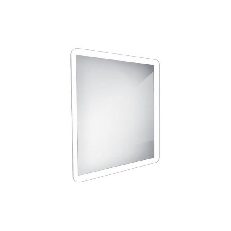 NIMCO zrkadlo podsvietené LED 19000 60 x 60 cm hliníkový rám ZP19066