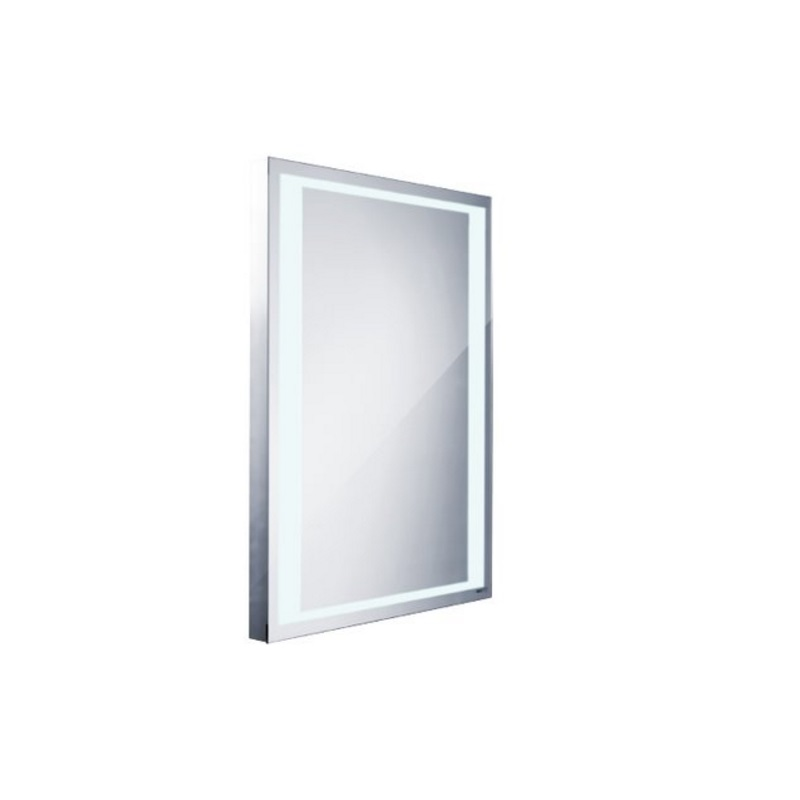 NIMCO zrkadlo podsvietené LED 4000 60 x 80 cm hliníkový rám ZP4001